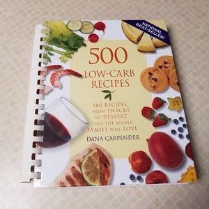 """""""500 Low-Carb Recipes"""" Cookbook"""